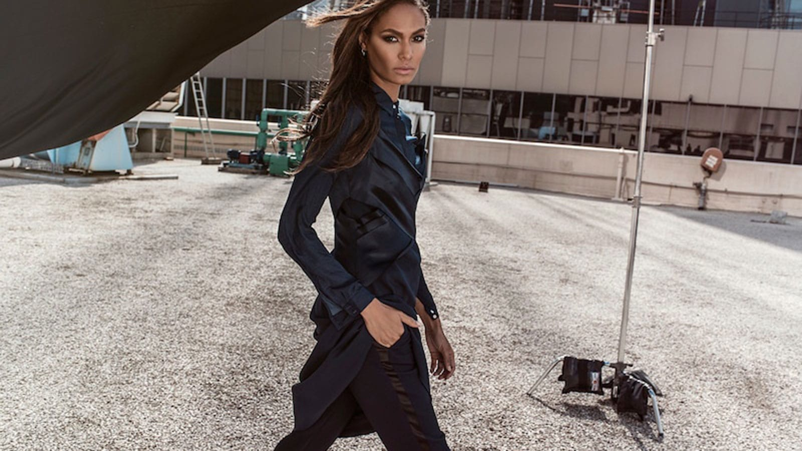 StyleAndMinimalism | Editorials | Joan Smalls Photographed By Margaret Zhang for Studio W