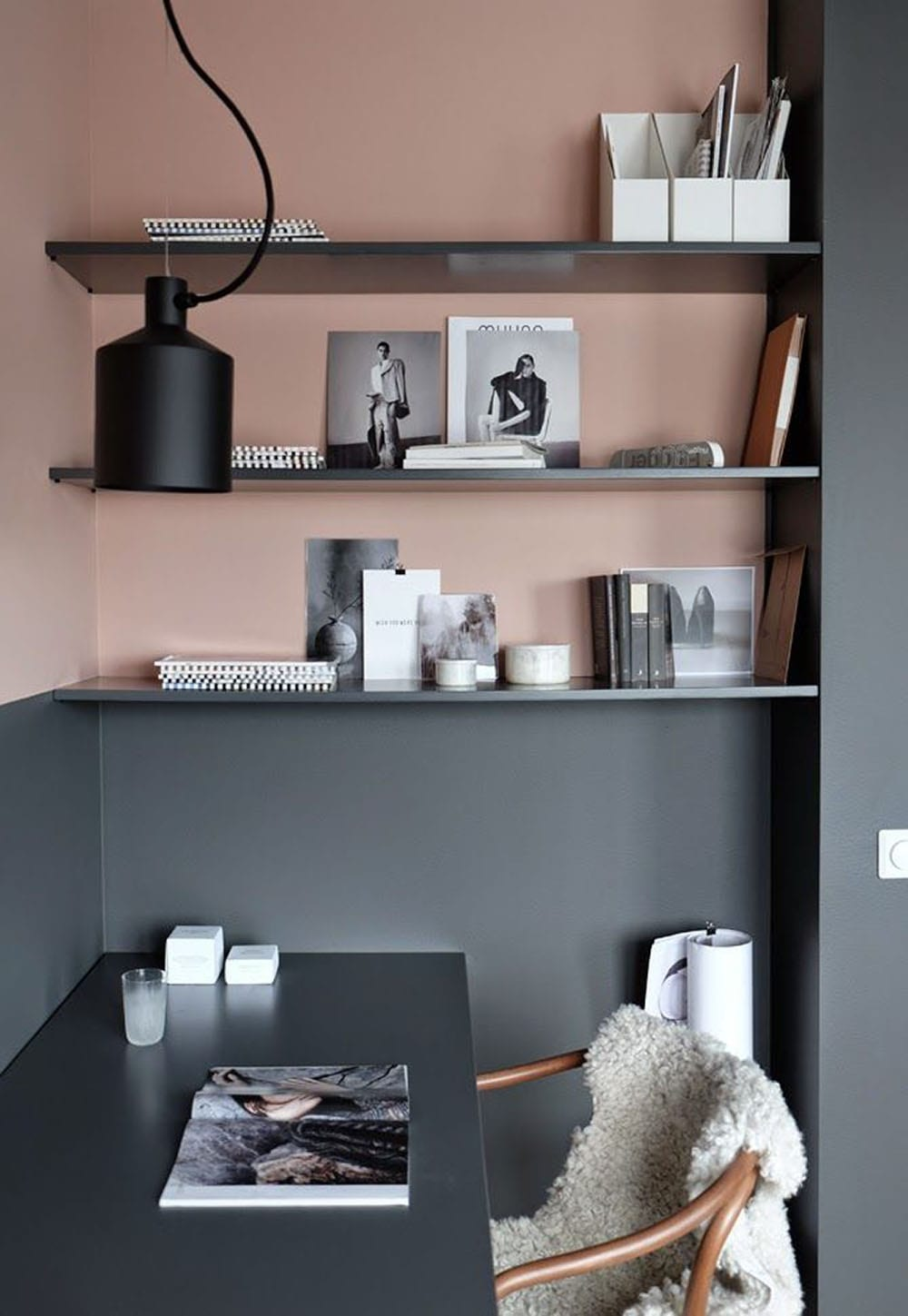 Decorating with dusty pink style minimalism for Interior paint inspiration