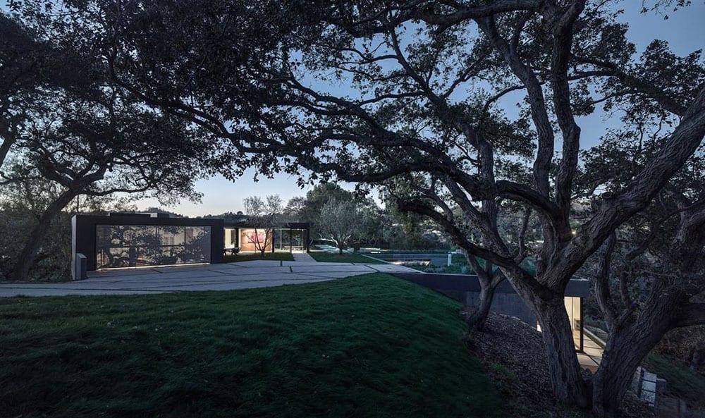 Style&Minimalism | Architecture | Oak Pass Main House, Beverly Hills