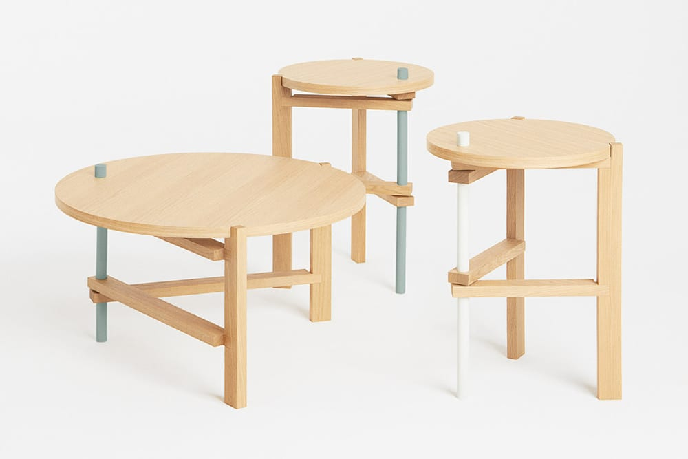 StyleAndMinimalism | Home Accessories | COS x Hay Exclusive Table Collection