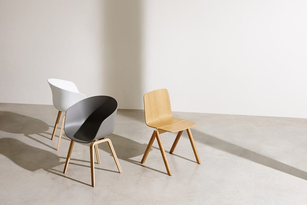 StyleAndMinimalism | Home Accessories | HAY About A Chair + Copenhague Chair