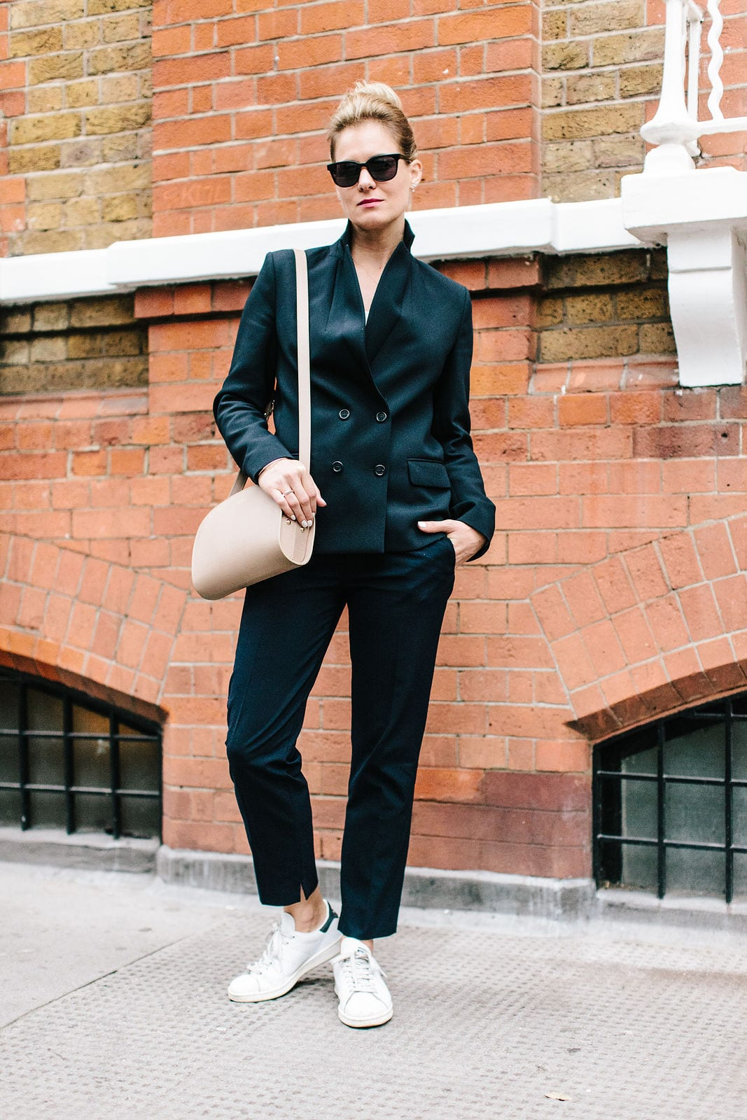 StyleAndMinimalism | It's Personal | LFW SS16 | Wearing A Suit To LFW | Photographer Dina Tsesarsky