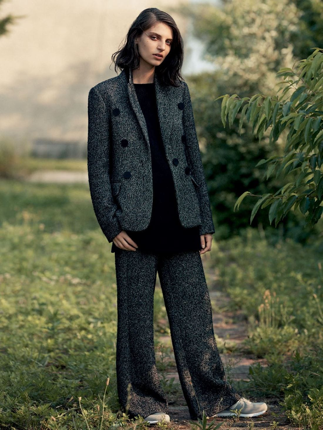 Style&Minimalism | Editorials | Vogue Russia | September, 2015 | Steffy Argelich & Ilana Kozlov