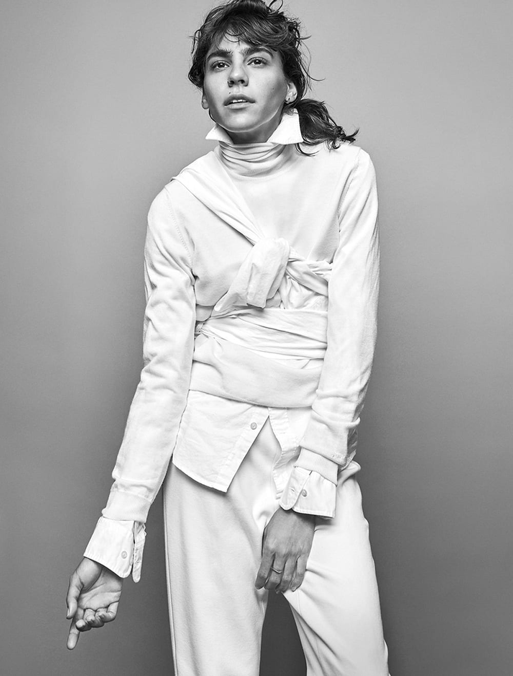 Style&Minimalism | Editorials | Gant White Shirt Styling By Columbine Smille