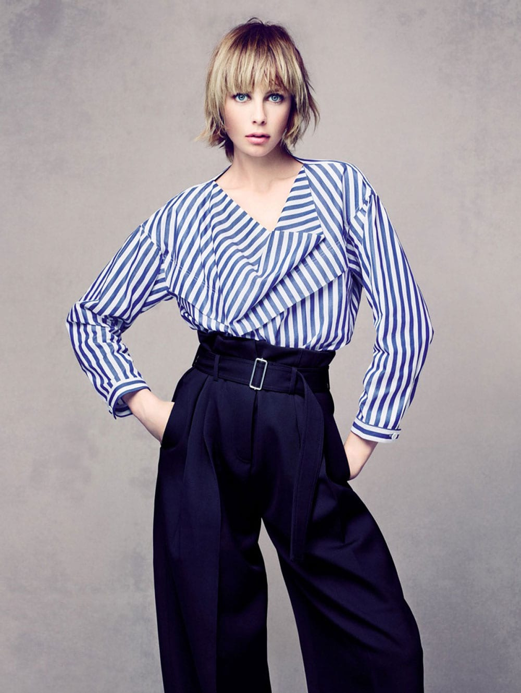Style&Minimalism   Editorials   Vogue China   Edie Campbell by Sølve Sundsbø   Céline Resort 16