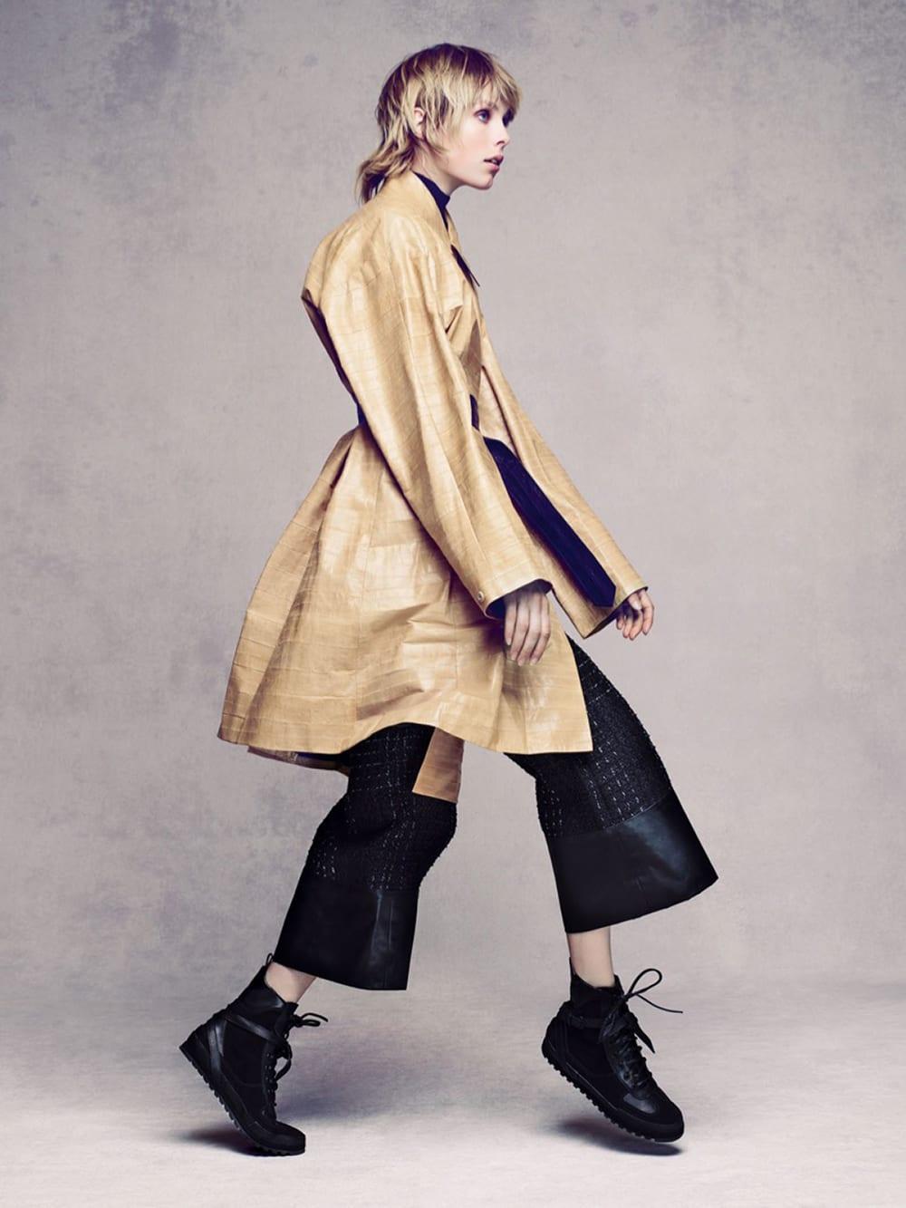 Style&Minimalism   Editorials   Vogue China   Edie Campbell by Sølve Sundsbø   Calvin Klein