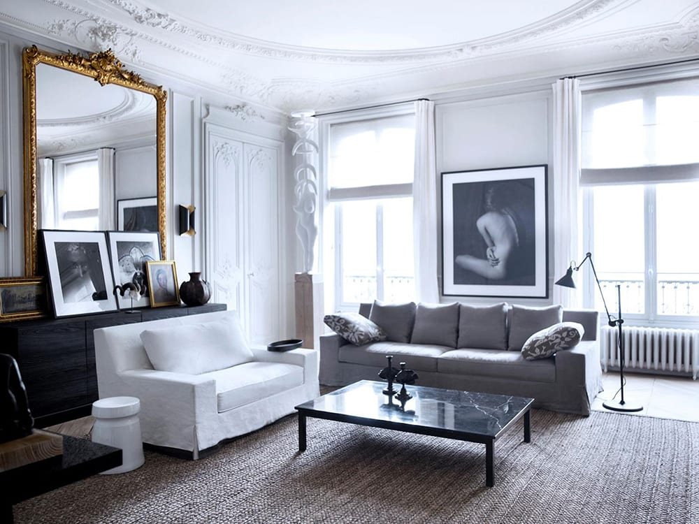 Styleu0026Minimalism | Interiors | Gilles U0026 Boissier | Paris Apartment