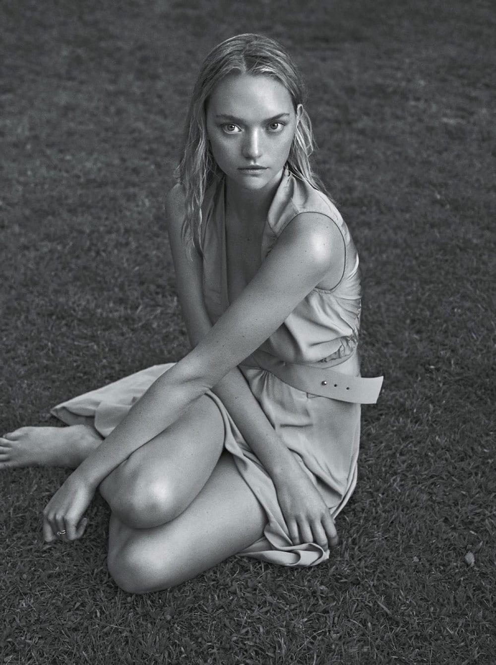 Style&Minimalism | Editorials | January 2016 | Vogue Australia | Gemma Ward by Lachlan Bailey