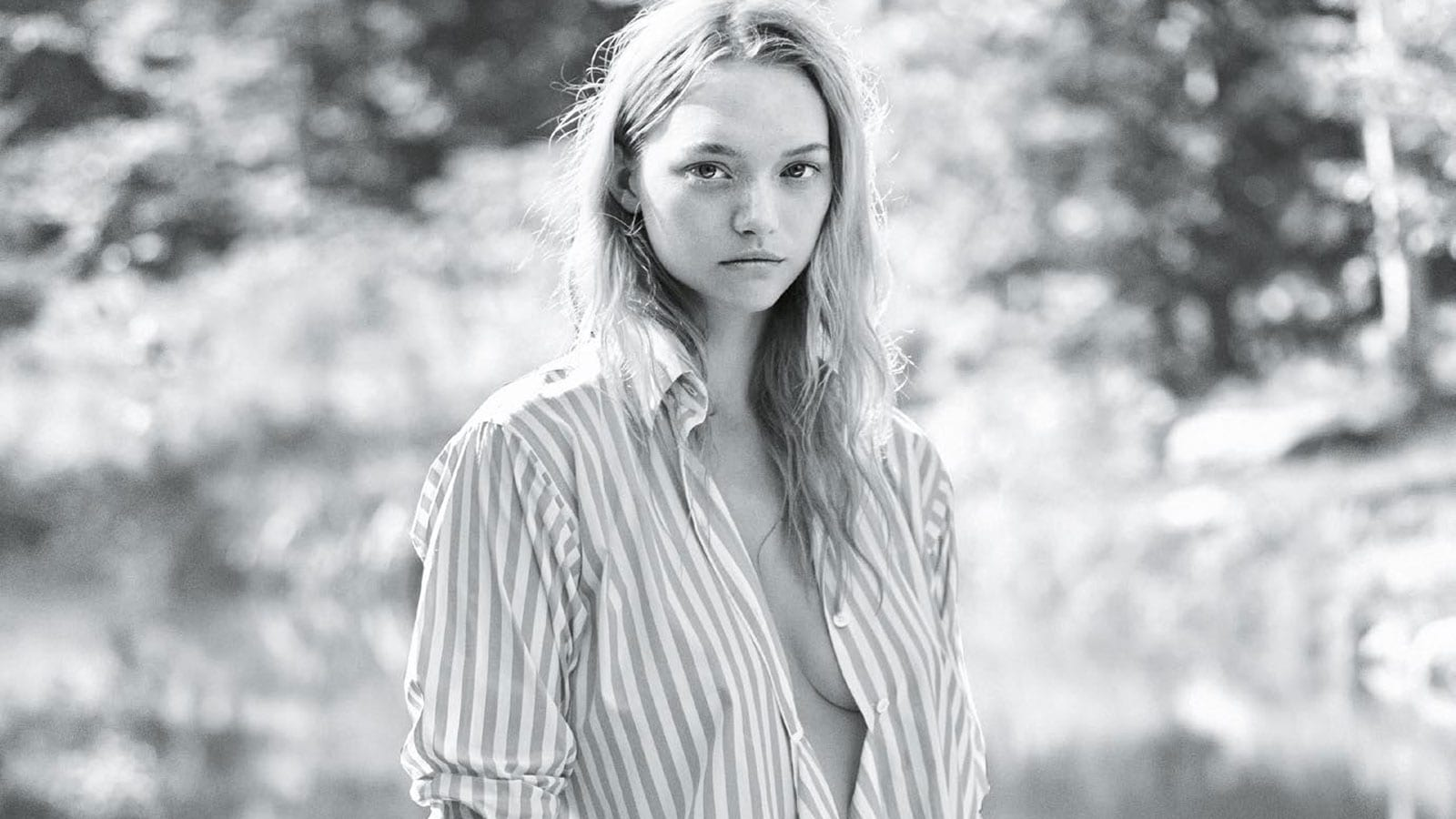 Style&Minimalism | Editorials | January 2016 | Vogue Australia | Gemma Ward by Lachlan Bailey