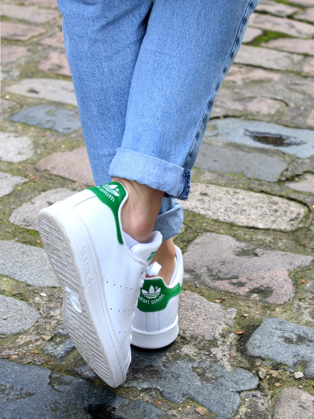 Style&Minimalism | It's Personal | Comme Des Garçons Play Strip T-Shirt, COS Cardigan & Adidas Stan Smith Trainers