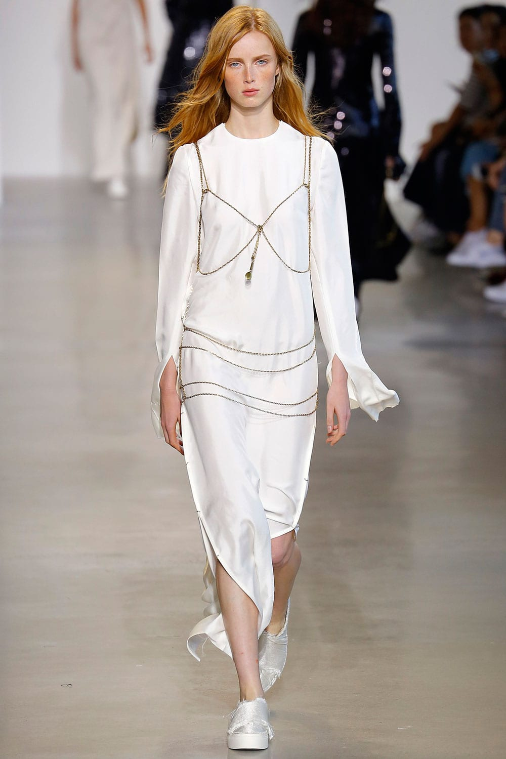 Style&Minimalism | Collections | Calvin Klein Collection SS16 | Look 38
