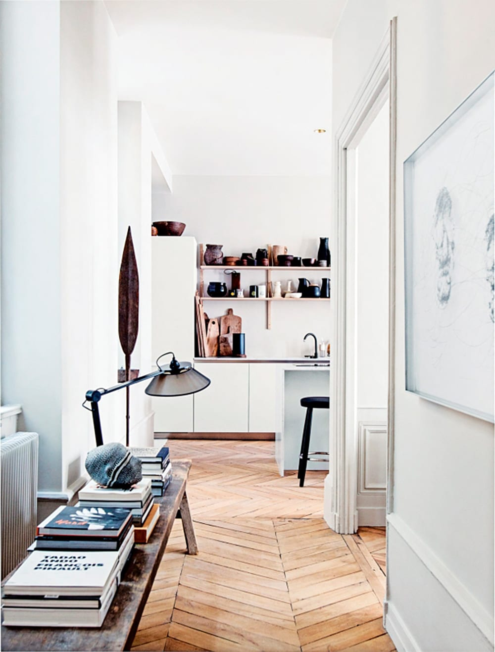 Style&Minimalism | Interiors | Converted 1850s Apartment in Lyon by Maison Hand
