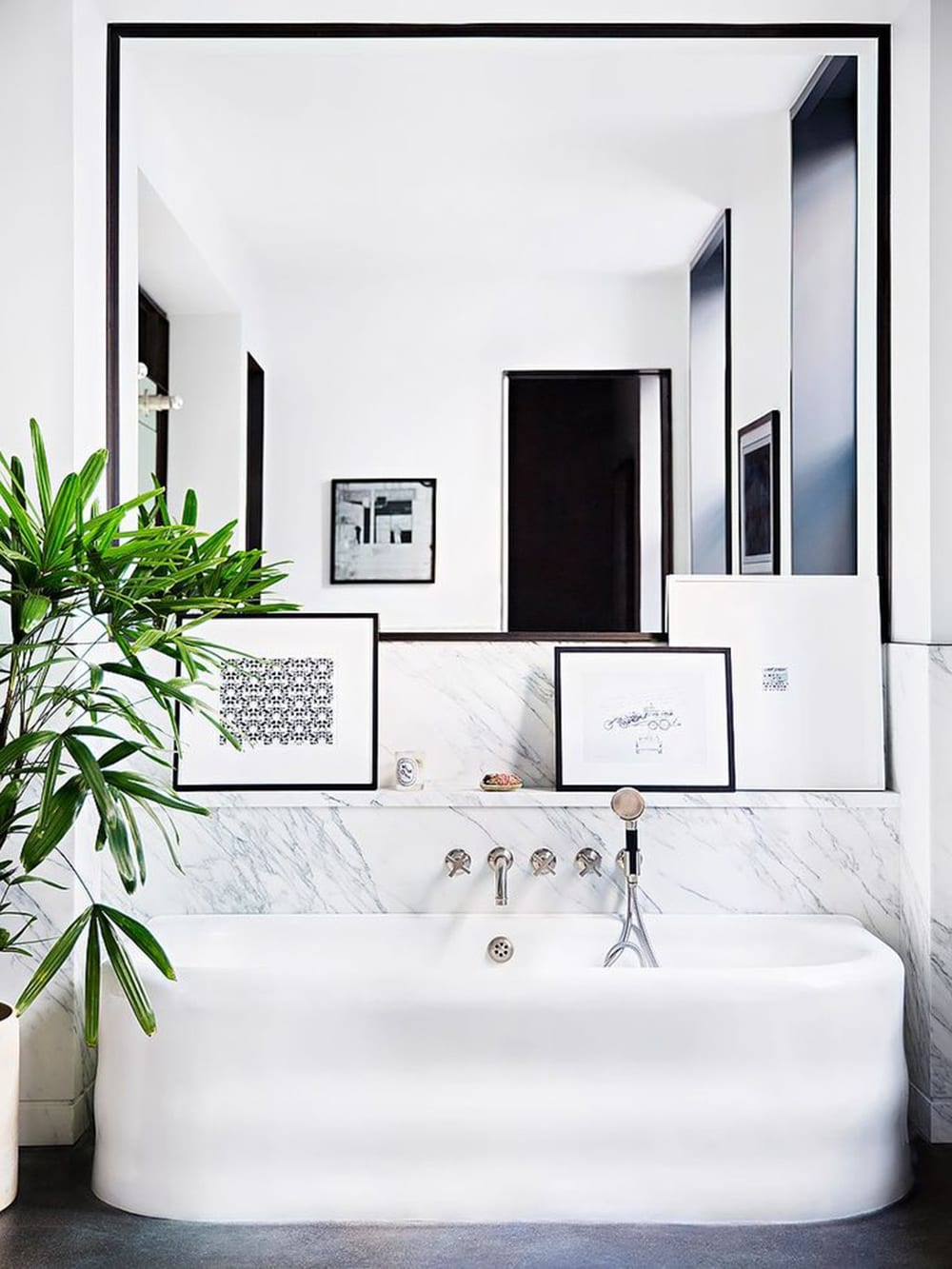 Styleu0026Minimalism | Interior Inspiration | Minimal Bathroom Styling Tips