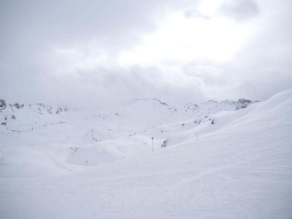 Style&Minimalism | It's Personal | Val D'Isère Après-Ski Style | G-LAB Coat, NYDJ Jeans, ME+EM Stripe Tee