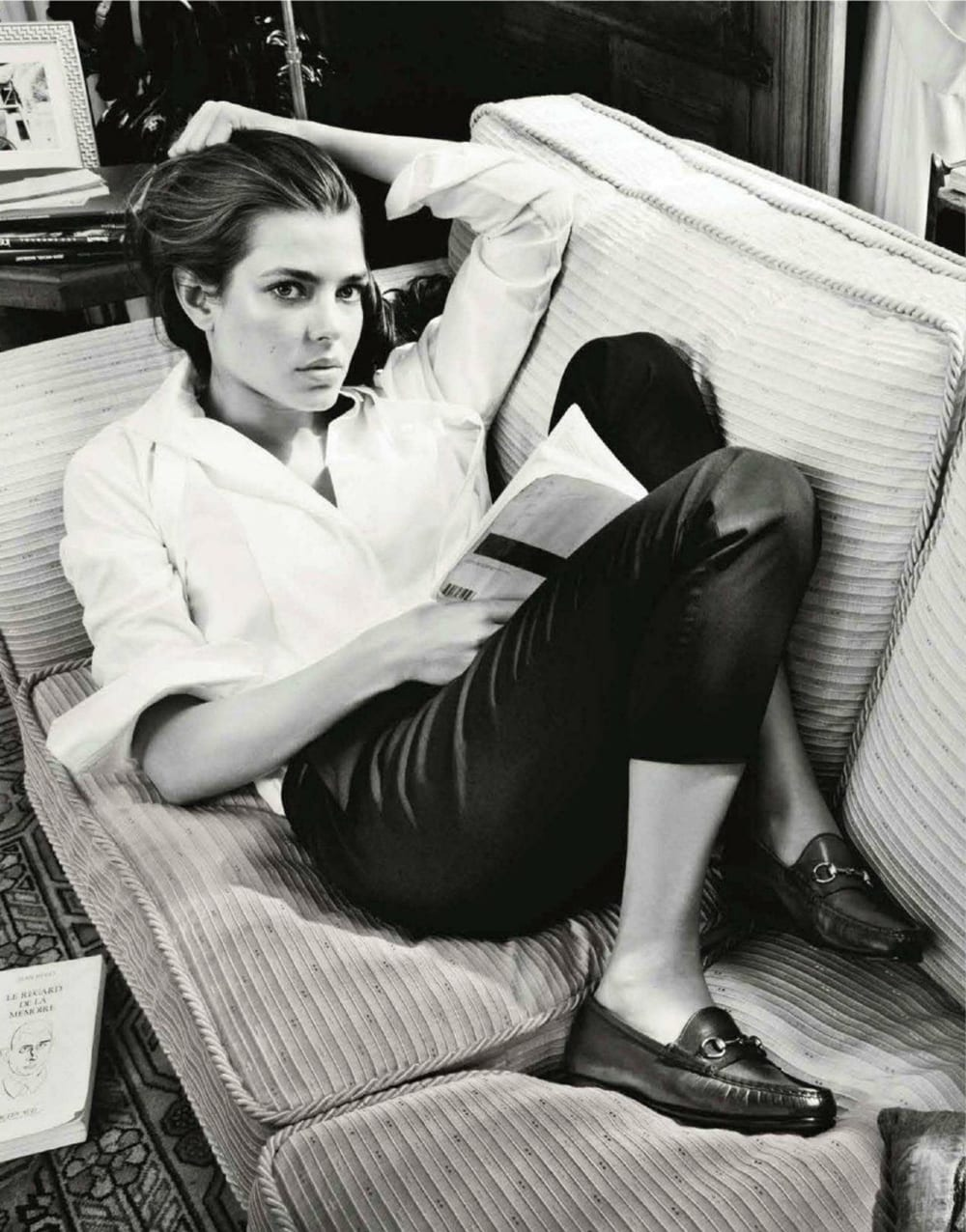 Style&Minimalism | L'Amour | Gucci Loafer | Charlotte Casiraghi