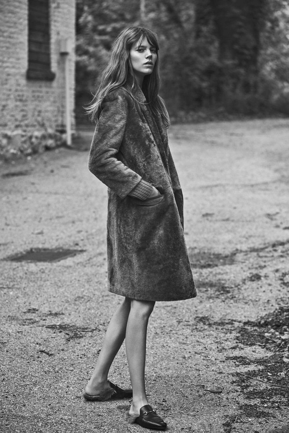 Style&Minimalism | L'Amour | Gucci Loafers | Freja Beha Erichsen in WSJ
