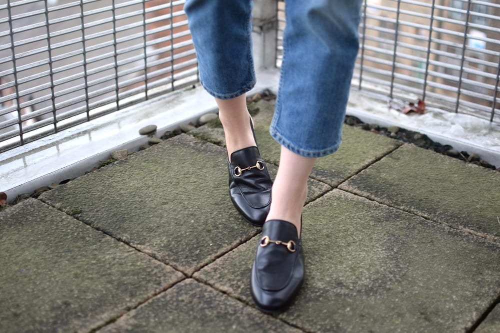 Style&Minimalism | L'Amour | Gucci Loafer | Shot From The Street