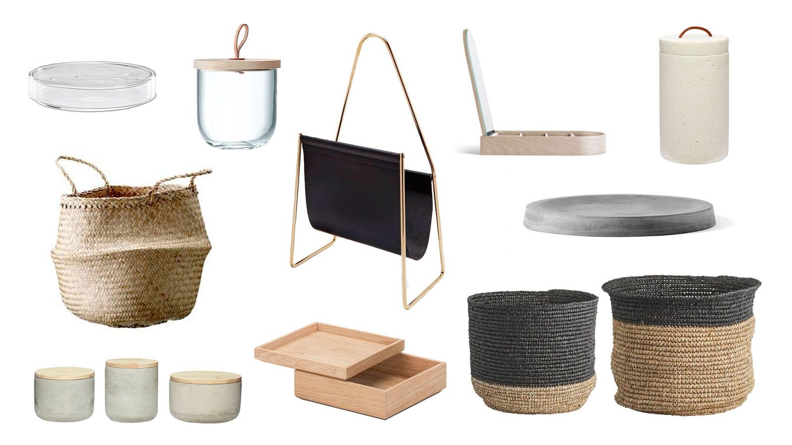 Style&Minimalism | Interior Accessories | Decorative Storage Ideas