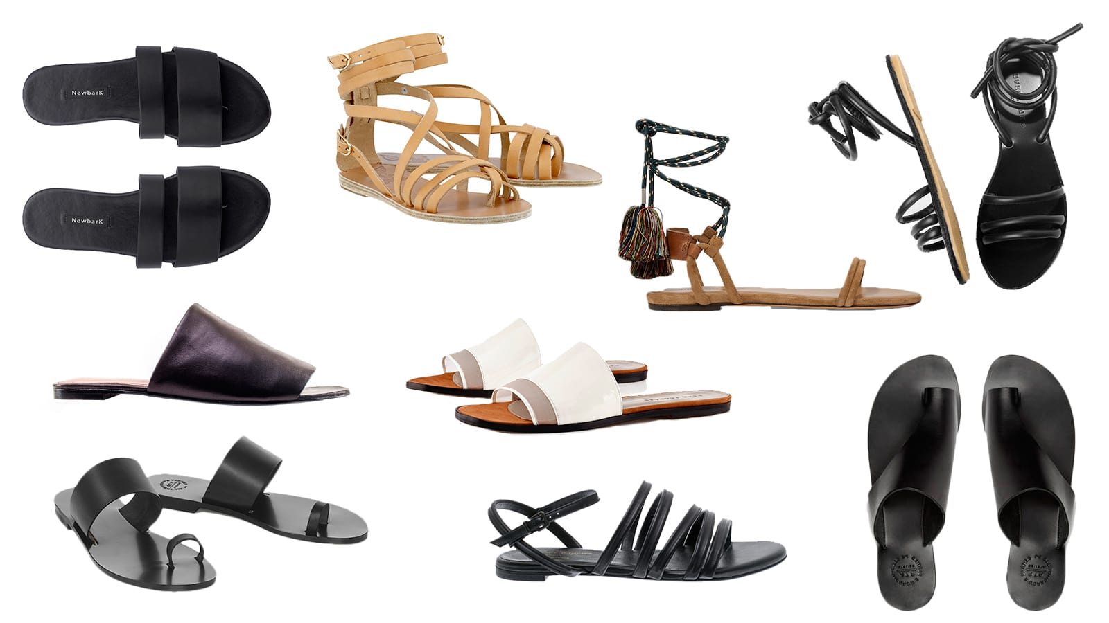 Style&Minimalism | Perfect Leather Summer Sandals for SS16