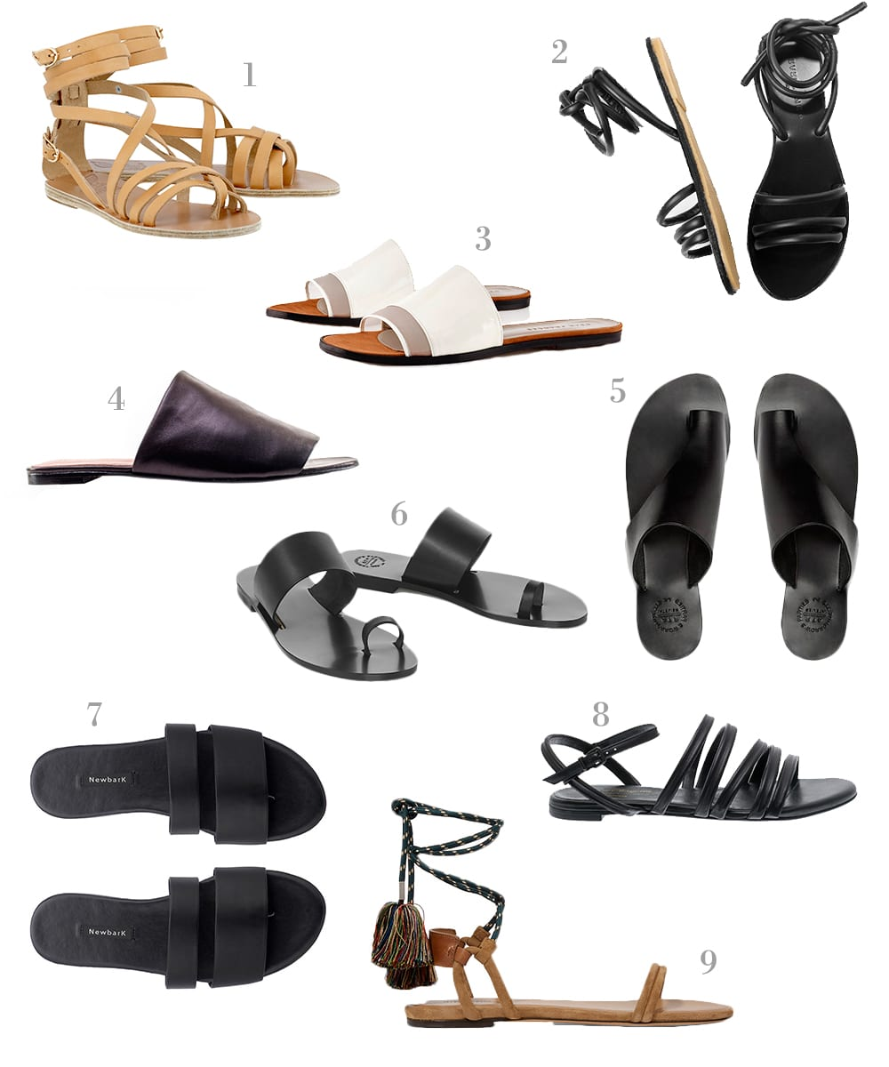 Style&Minimalism | Perfect Leather Sandals for SS16