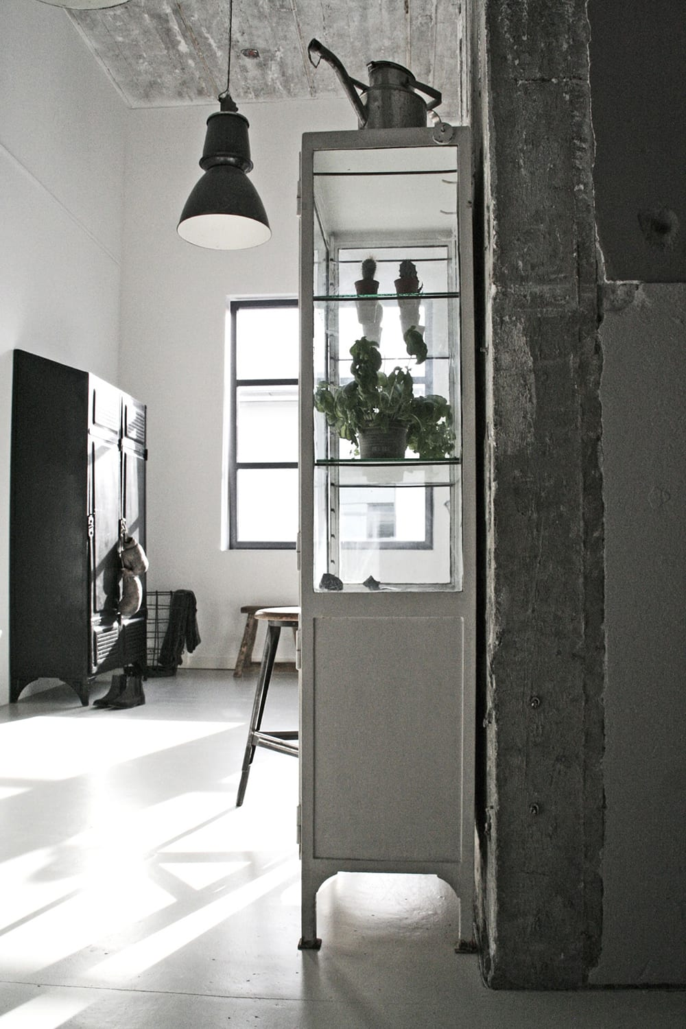 Style&Minimalism | Home Interiors | Jason Hering's Industrial Loft Apartment by stylist Renee Arns