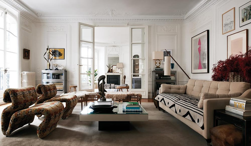 Style&Minimalism | Interiors | Inside Clare Waight Keller's Paris Apartment
