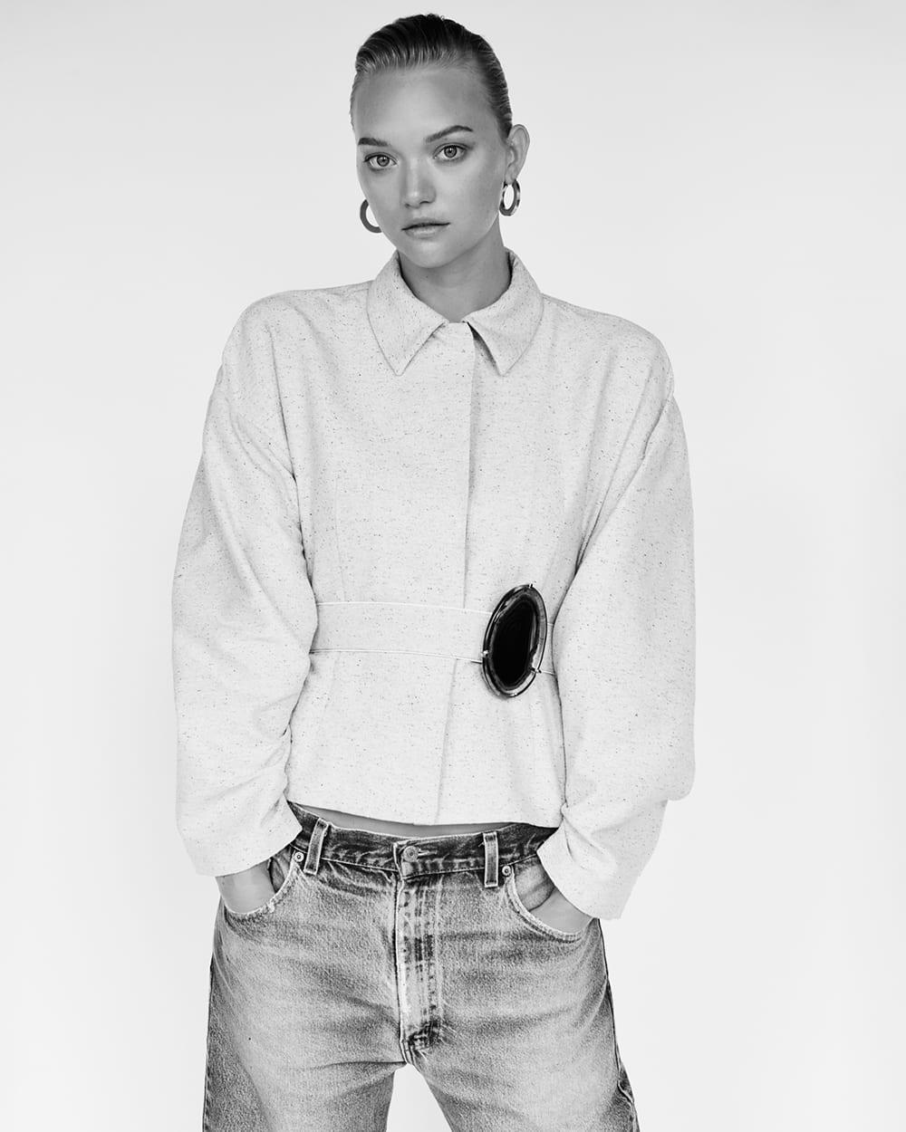 Style&Minimalism | Beauty Editorial | Gemma Ward by Alexandra Nataf for Unconditional Magazine