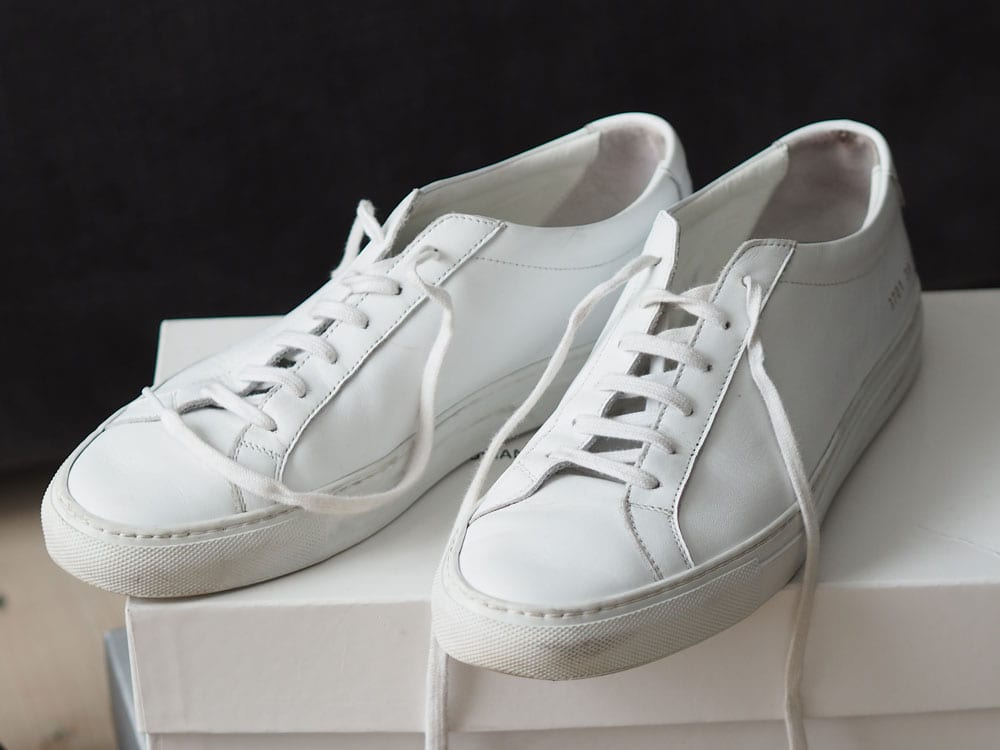 Style&Minimalism | It's Personal | Moda in Pella Shoedrobe | Woman by Common Projects Achilles