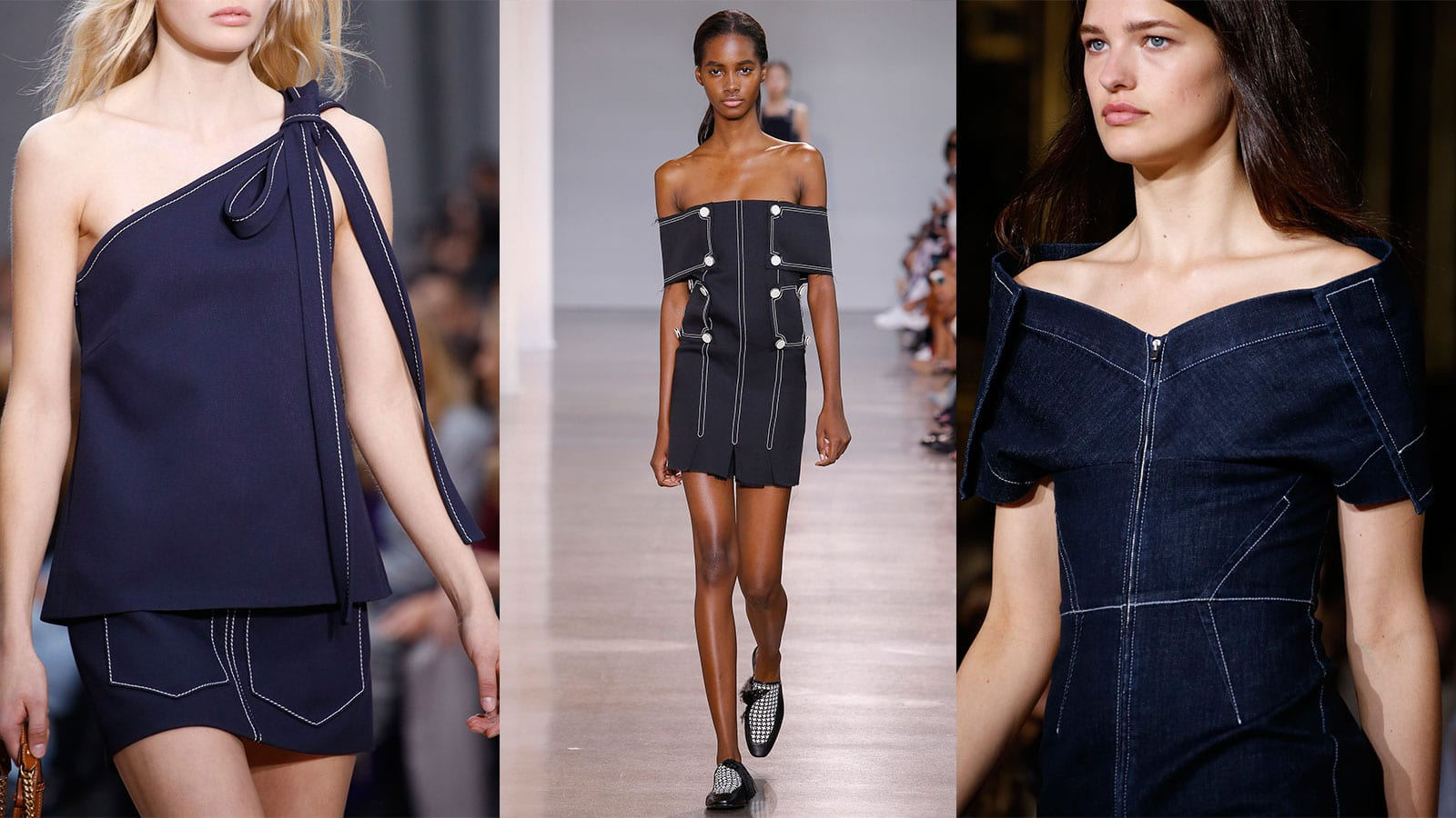 Style&Minimalism | Trends | Contrasting Stitching