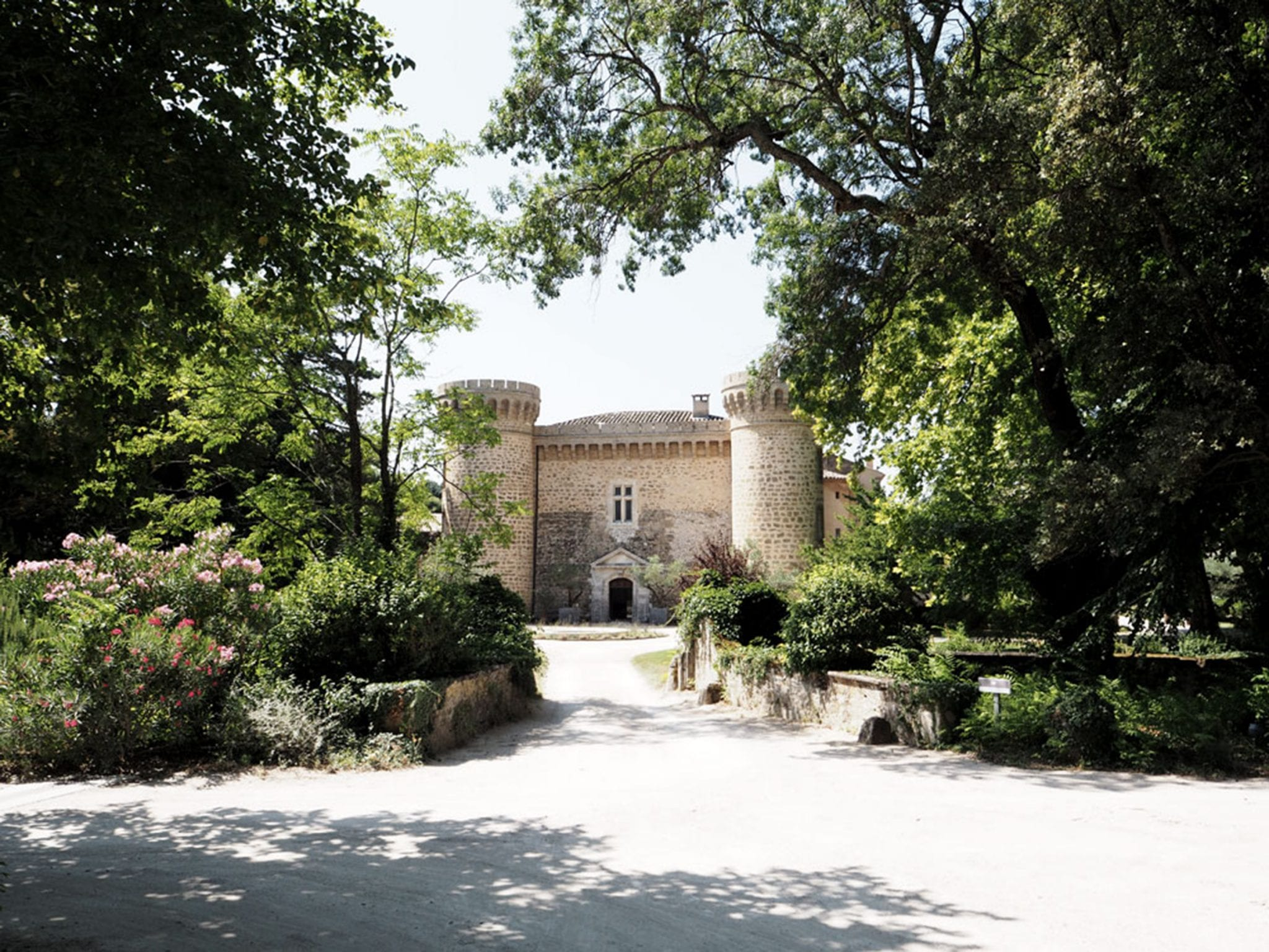 Wedding Venue, Château de Massillan, Uchaux, France