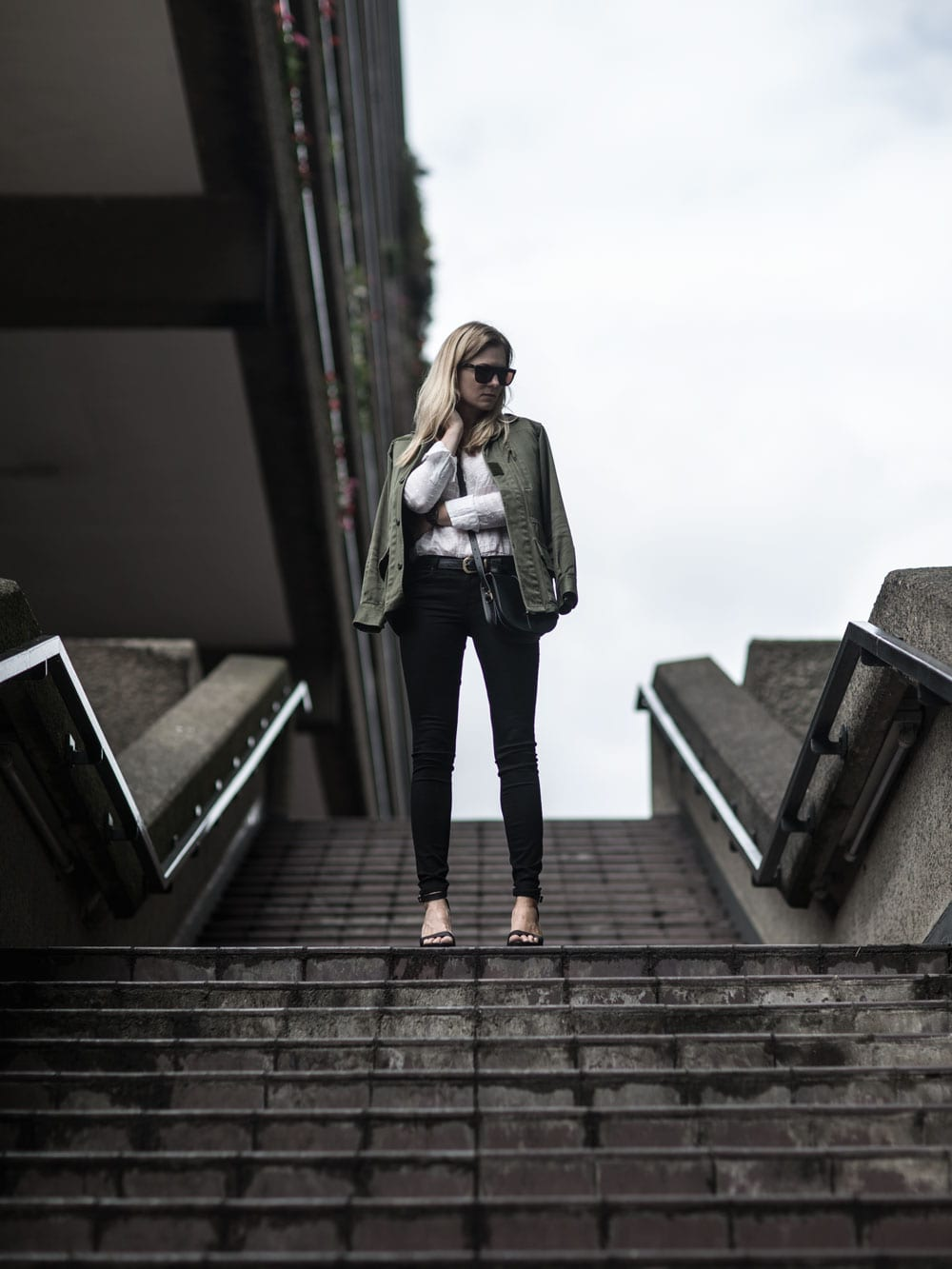 Style&Minimalism | It's Personal | AYR Jeans & Silk Top at The Barbican