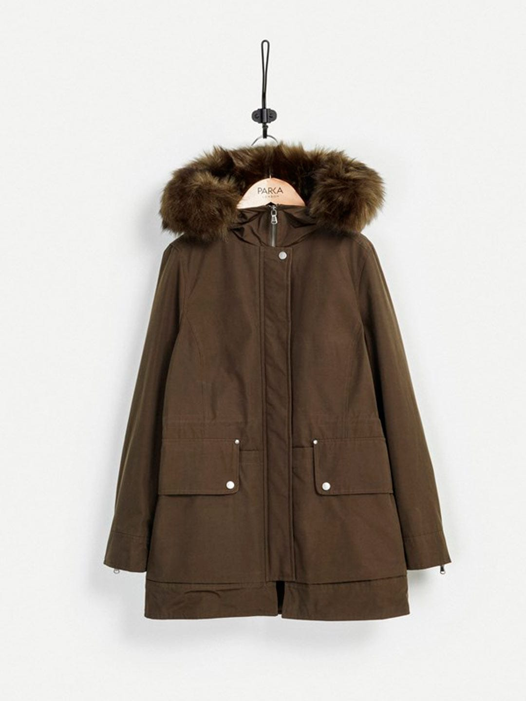Best Winter Coats | Parka London Ida Parka in Khaki