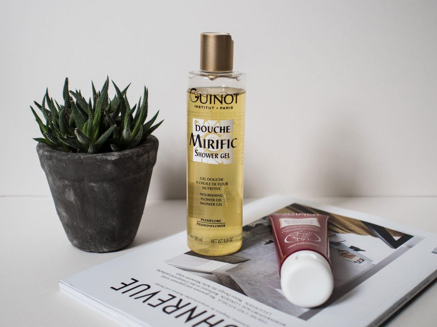 Guinot Institut Nourishing Flower Oil Shower Gel & Guinot Institut Gentle and Soothing Nourishing Balm