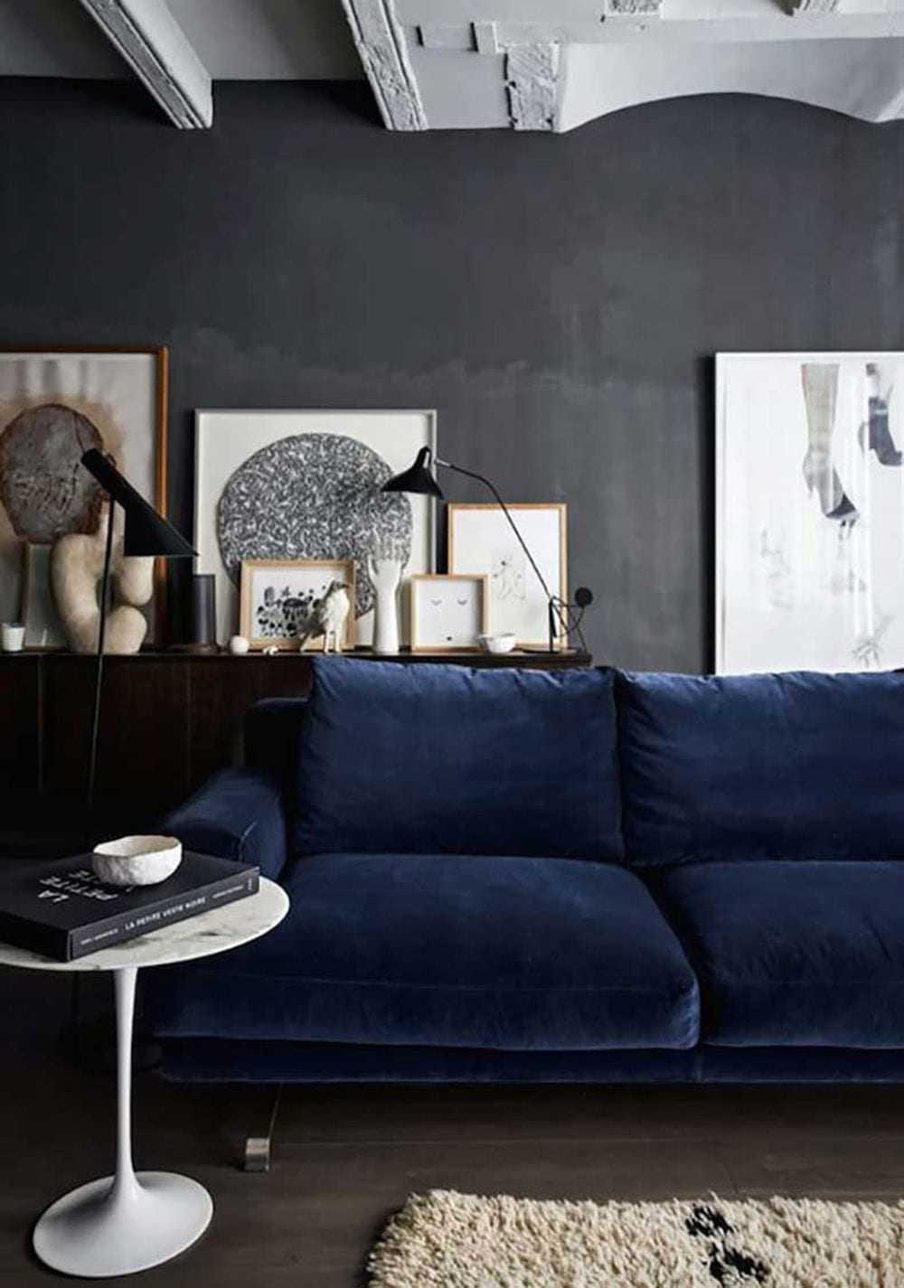 Style&Minimalism | Home Inspiration | Decorating with Velvet