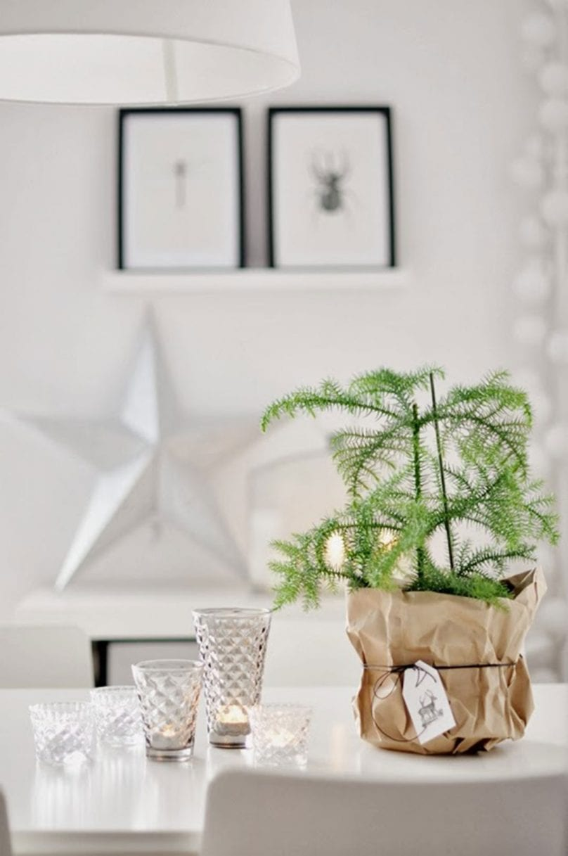 Minimalist Christmas Decorations | @styleminimalism