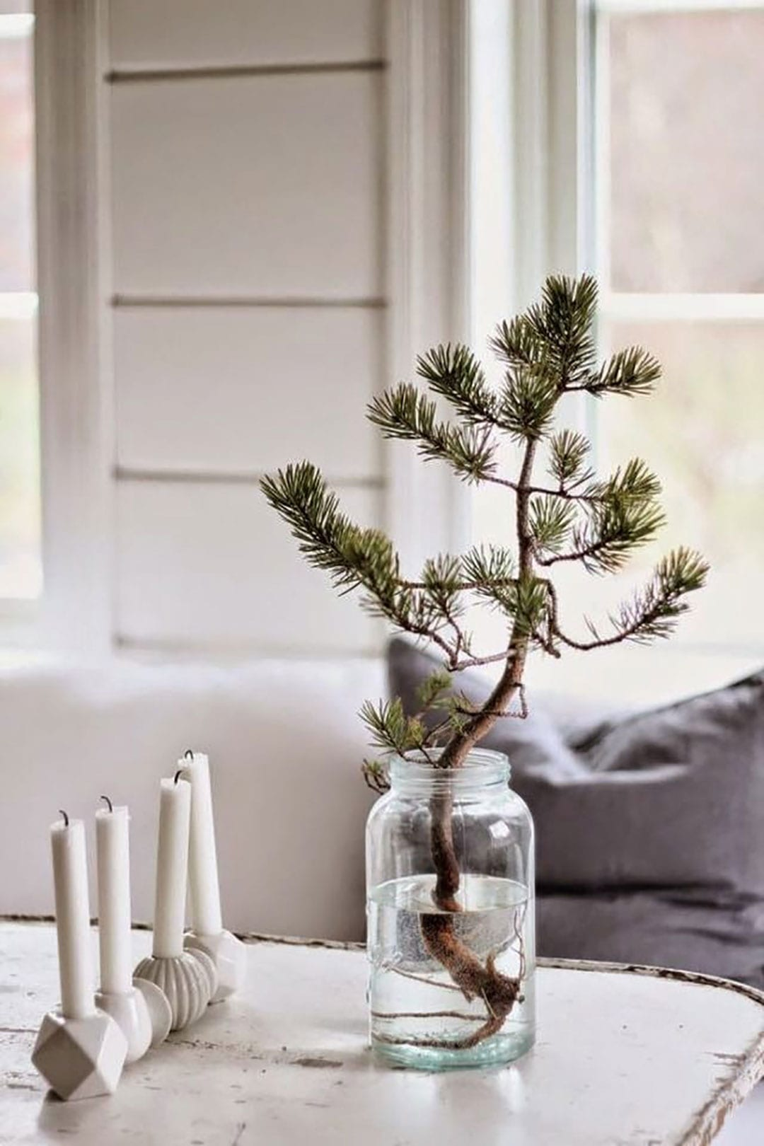 Minimalist Christmas Decorations | @styleminimalism