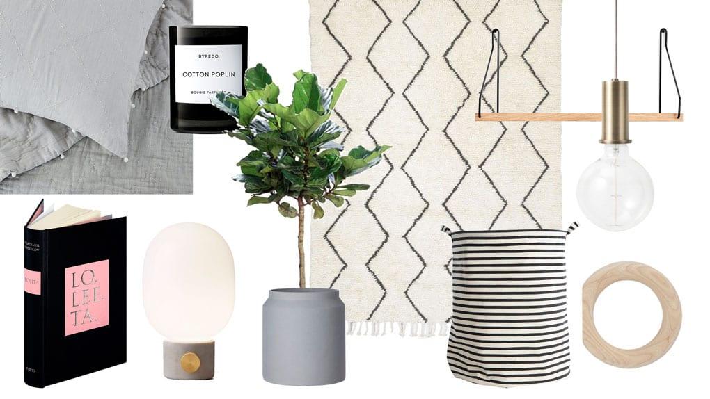 Bedroom Essentials Shopping List
