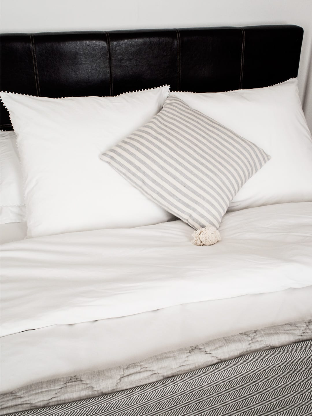 My Luxury Bedding from The White Company, Wood/Grey & Habitat