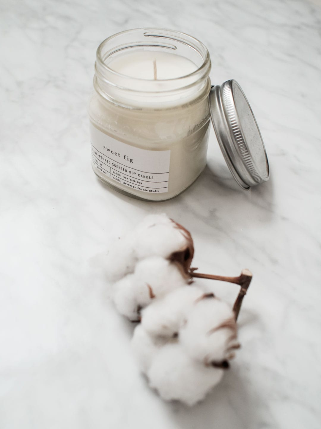 Best Face Masks & Treatments | Wood/Grey Sweet Fig Soy Candle