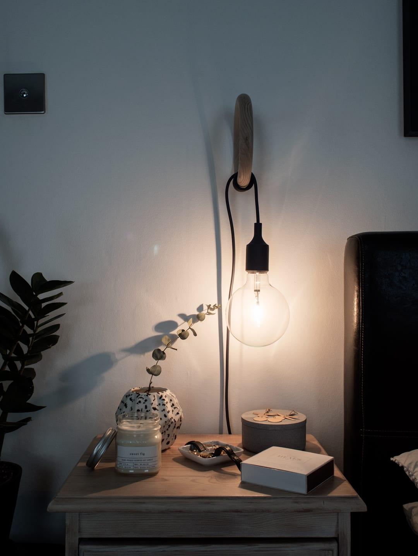 COSxHAY Gym Hook & Muuto E27 Pendant Lamp Bedside Lamp