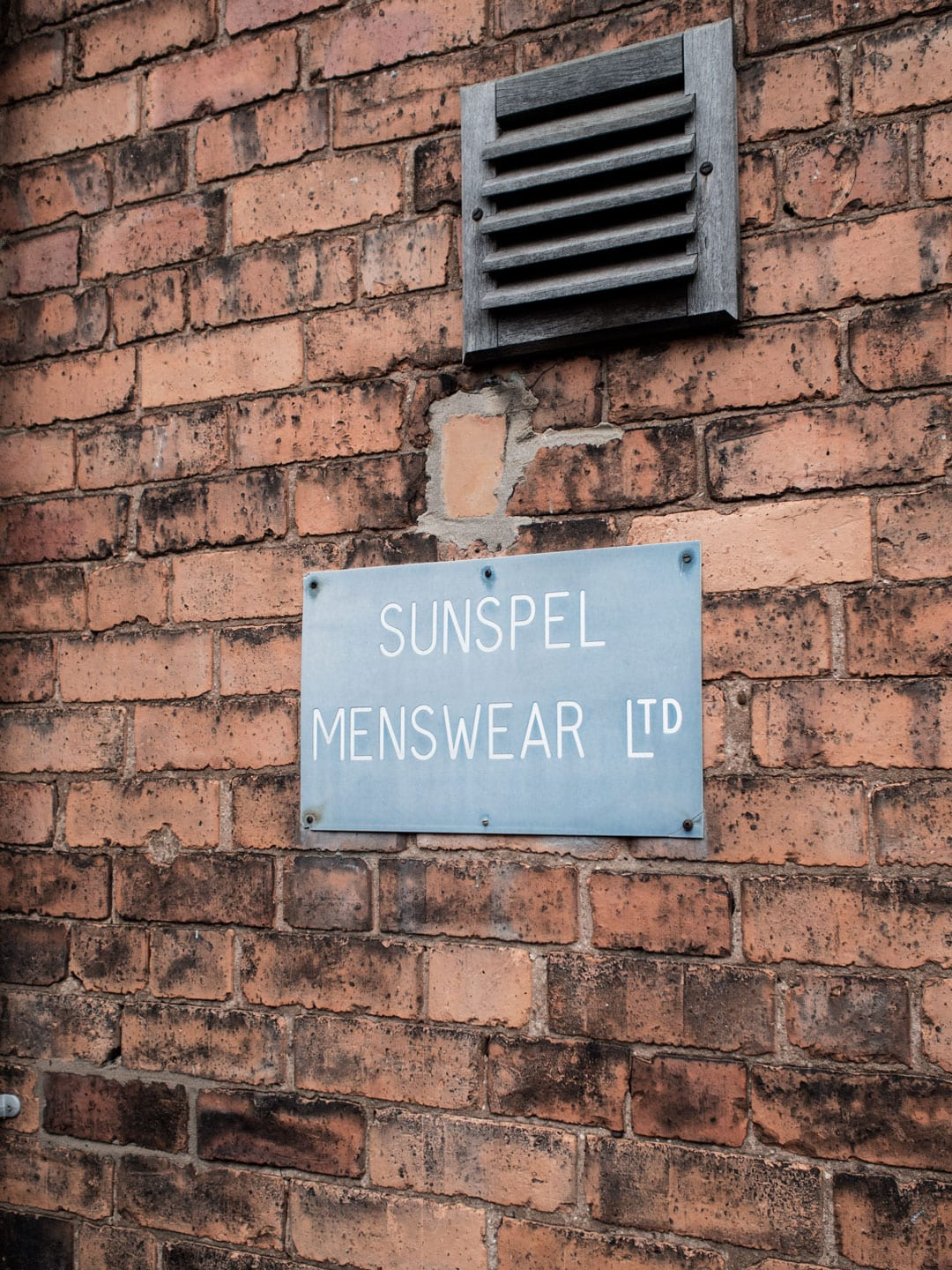 Heritage Brand, Sunspel Factory