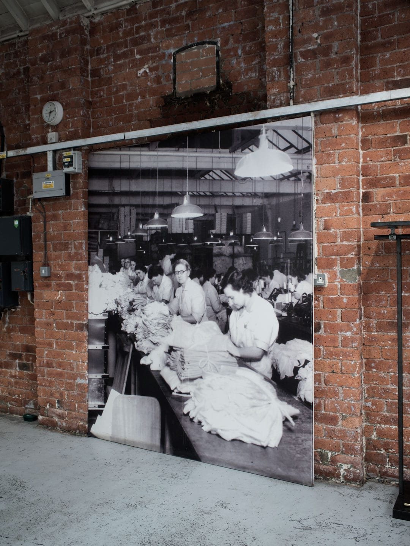 Heritage Brand, Sunspel Factory