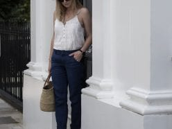 Wrap London Camisole & Linen Trousers