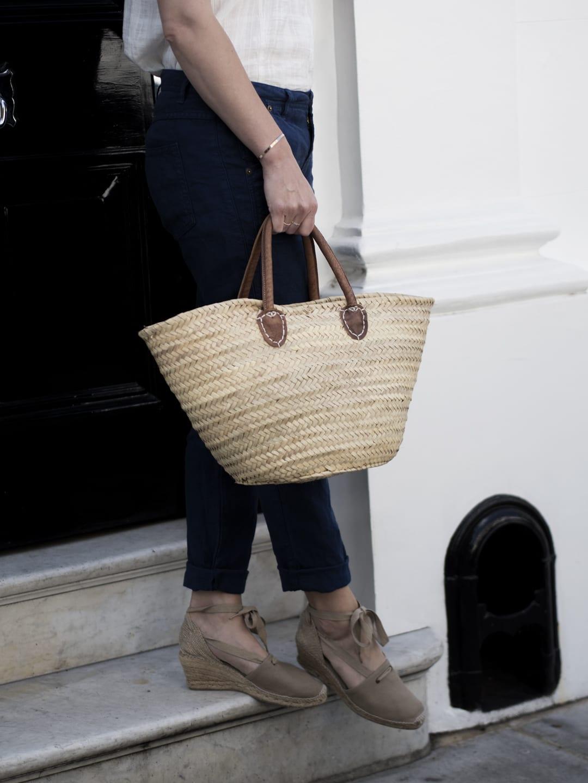 Wrap London Camisole & Linen Trousers