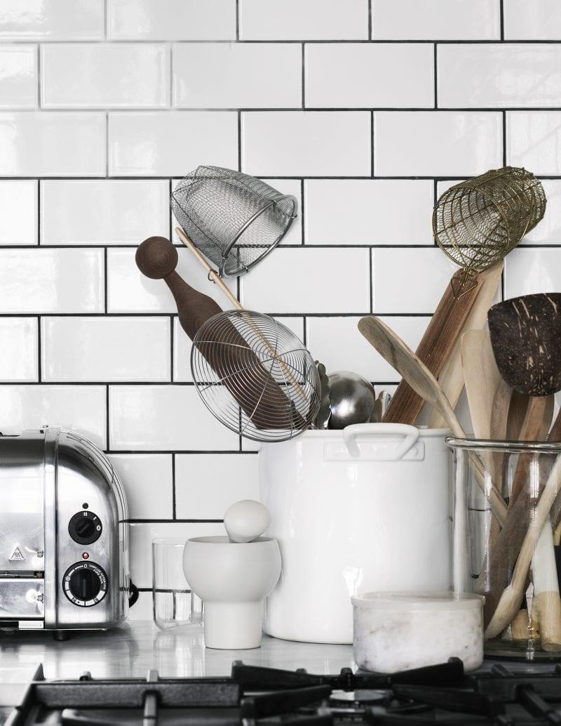 Kitchen details | Home of Artilleriet's Owners