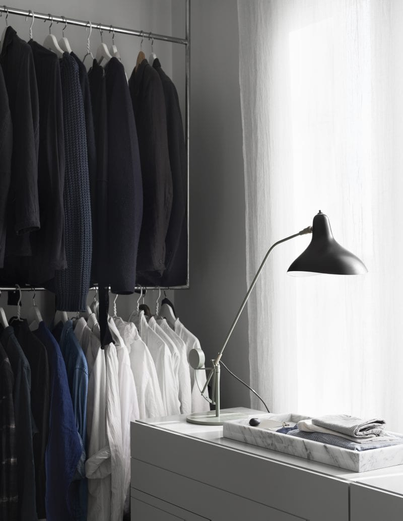 Walk-in wardrobe, dressing room | Home of Artilleriet's Owners