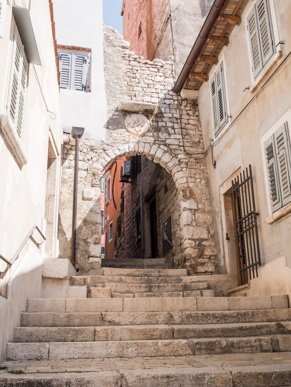 Old archway - Rovinj, Croatia