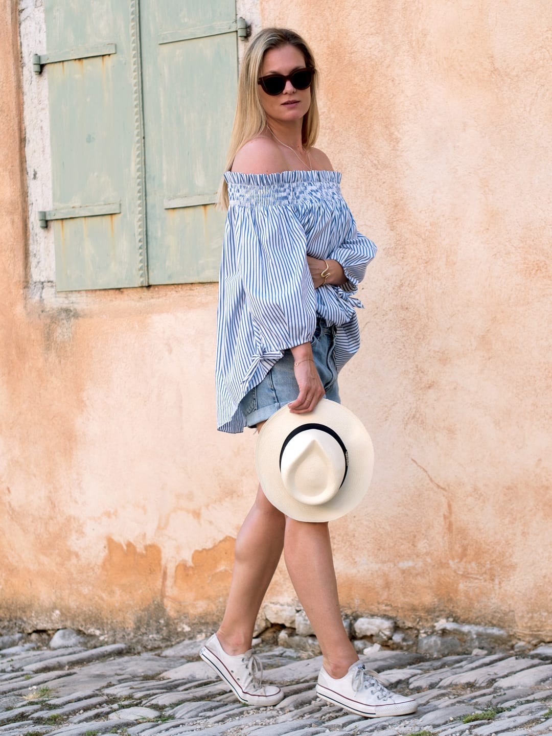 Caroline Constas in Sveti Lovreč, resort wear brands