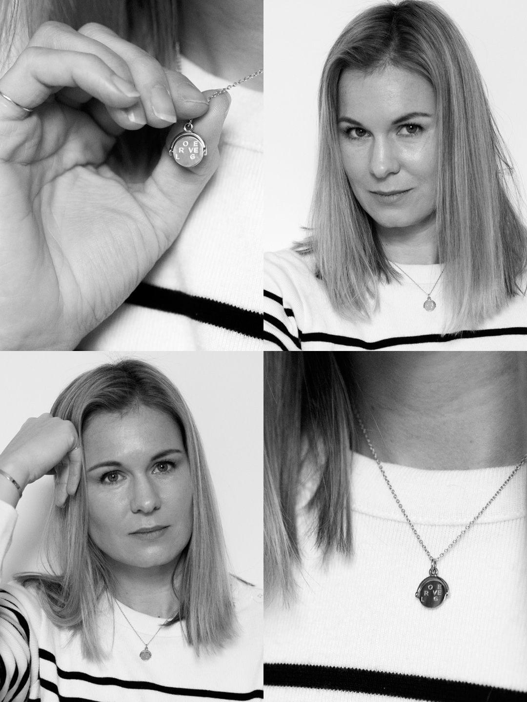 Love, Travel, Laugh - Auree Seychelles Pendant Necklace