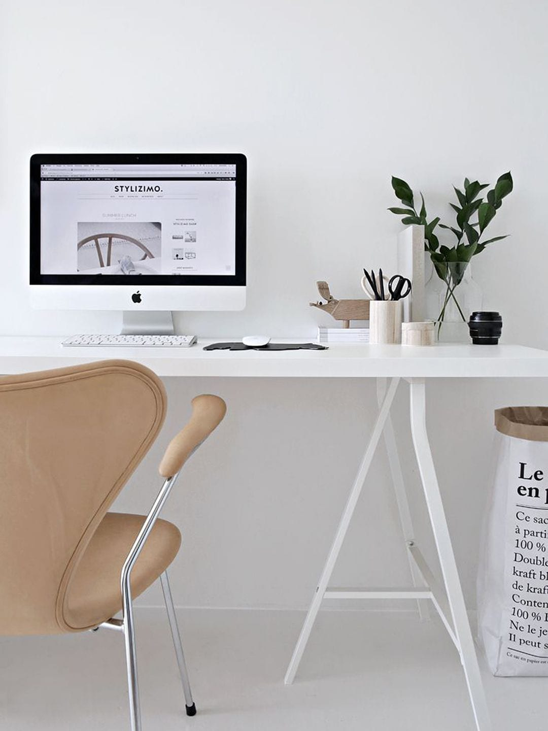 Scandinavian Minimalist Home Office Uk